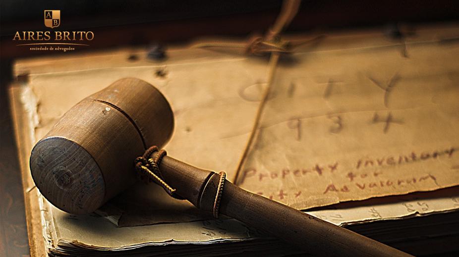 Aplicação da Logo Aires Brito Sociedade de Advogados